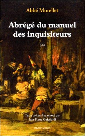 9782841370948: Abrégé du manuel des inquisiteurs, 1762