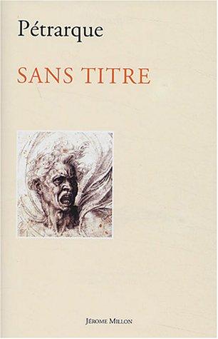 9782841371549: Sans titre (French Edition)