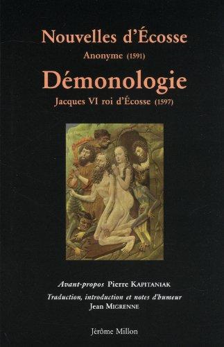 Nouvelles d'Ecosse - Démonologie: Jacques VI roi d'Ecosse