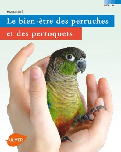 Le bien-être des perruches de des perroquets: Marine Scie