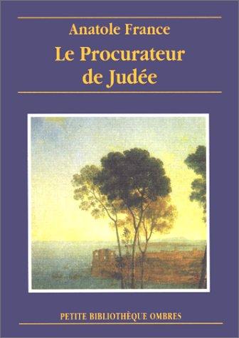 9782841421206: Le Procurateur de Judée
