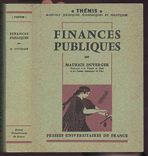 9782841432240: Les finances publiques