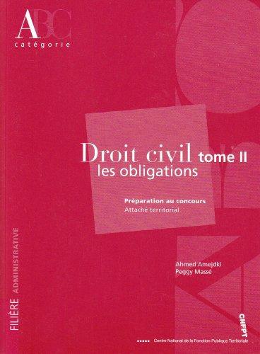 9782841432448: Droit civil : Tome 2, Les obligations