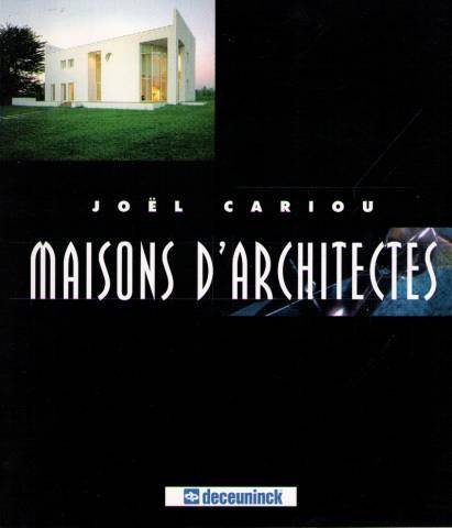 9782841461103: Maisons d'architectes (French Edition)