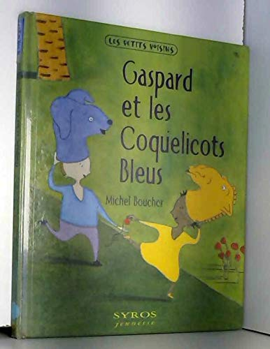 9782841467549: Gaspard et les coquelicots bleus