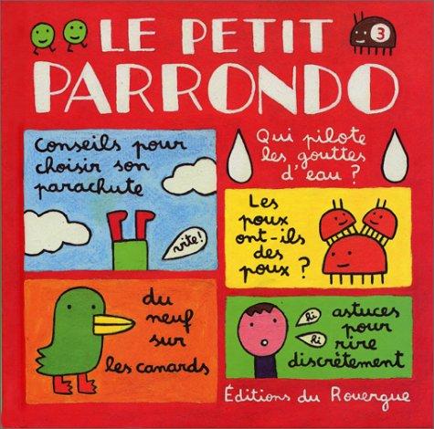 9782841562824: Le petit Parrondo, numéro 3