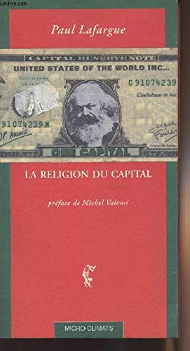 9782841580101: La Religion du capital