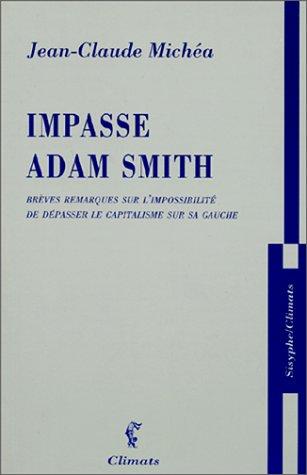 9782841582143: Impasse Adam Smith