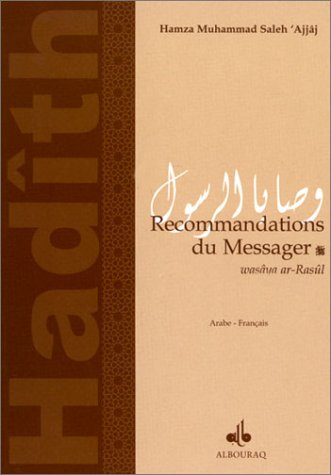 9782841610198: Recommandations du messager (bilingue français-arabe)