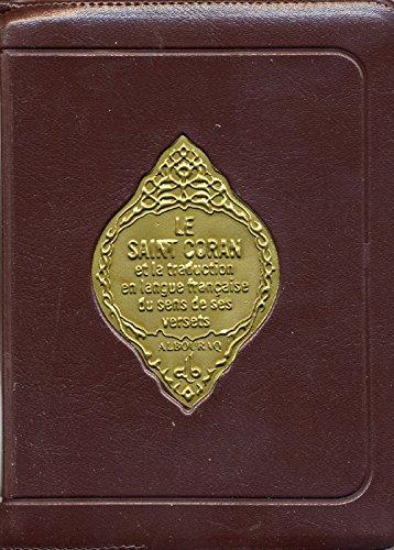 Saint-Coran, français, pochette, petit format: Collectif