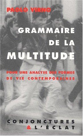 9782841620647: Grammaire de la multitude
