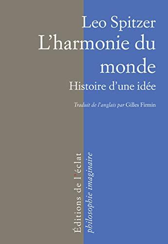 L'harmonie du monde - Histoire d'une idée