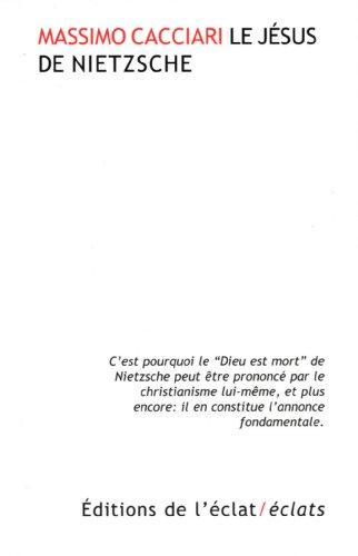 Jésus de Nietzsche (Le): Cacciari, Massimo