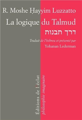 9782841623358: La logique du Talmud