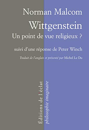 9782841623433: Wittgenstein : Un point de vue religieux ?