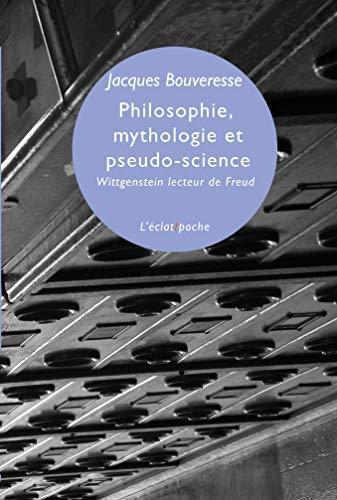 9782841623617: Philosophie, mythologie et pseudo-science : Wittgenstein lecteur de Freud