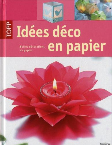 9782841677450: idées déco en papier