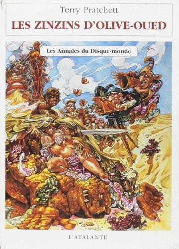 9782841720613: Les Annales du Disque-monde : Les zinzins d'Olive-Oued (Bibliothèque de l'évasion)