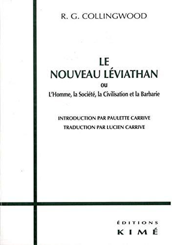 Nouveau Léviathan (Le): Collingwood, Robin George