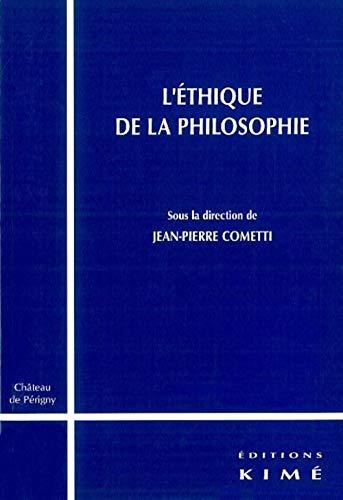 9782841743261: L'éthique de la philosophie