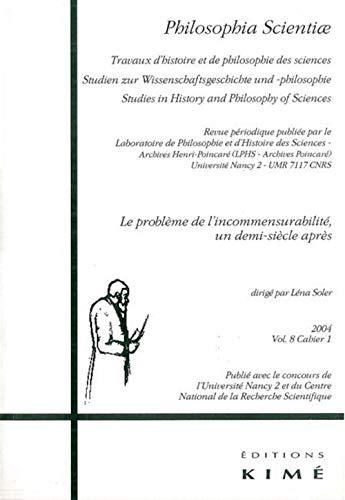 Philosophia Scientiae, v. 08, cahier 01: Soler, L�na