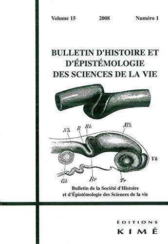 BULLETIN D'HISTOIRE ET D'EPISTEMOLOGIE DES SCIENCES DE: COLLECTIF