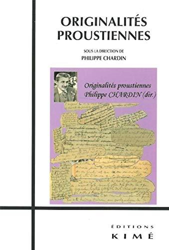 ORIGINALITES PROUSTIENNES: CHARDIN PHILIPPE