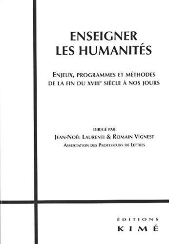 Enseigner les humanités: Collectif