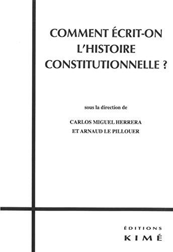 COMMENT ECRIT ON L HISTOIRE CONSTITUTION: HERRERA LE PILLOUER