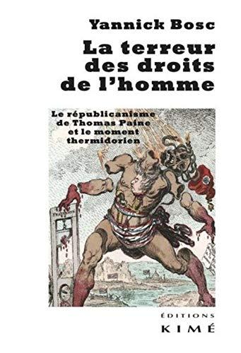 Terreur des droits de l'homme (La): Bosc, Yannick