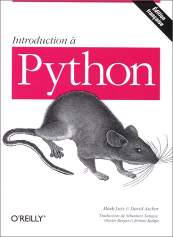 Introduction Ã: Python (9782841770892) by Lutz