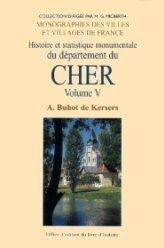 9782841781003: Le Cher, Tome V
