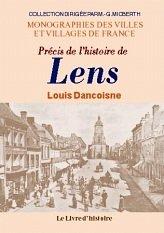 9782841781683: Précis de l'histoire de Lens (Monographies des villes et villages de France) (French Edition)