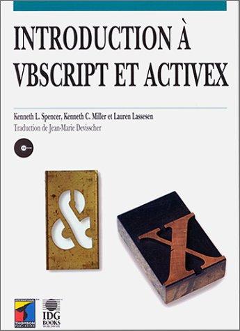 9782841800193: Introduction à VBScript et ActiveX