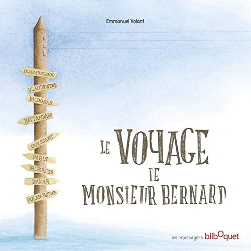 9782841814220: Le voyage de Monsieur Bernard