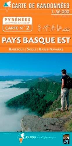 9782841823093: Pays Basque East: Soule-Basse Navarre (Carte de randonnées Pyrénées)