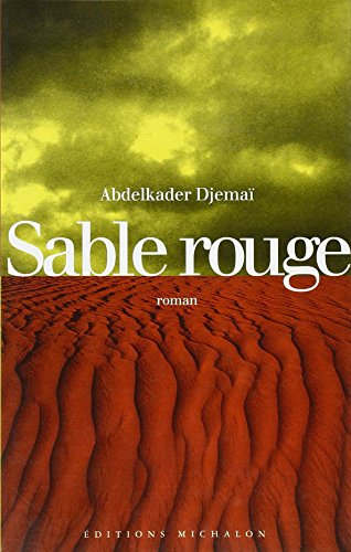 9782841860326: Sable rouge
