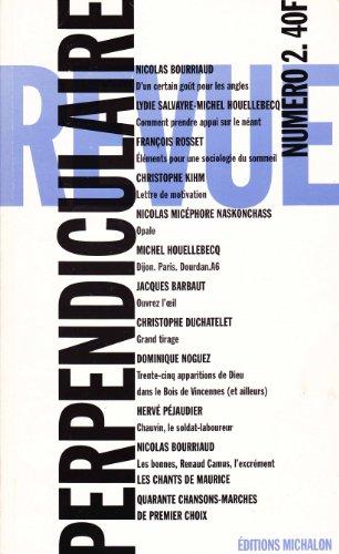 Revue perpendiculaire no 2: Collectif
