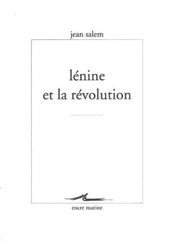 9782841863198: Lénine et la révolution (Encre Marine) (French Edition)
