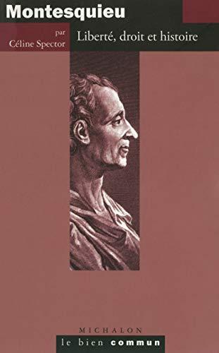9782841865222: Montesquieu - Libert�, droit et histoire