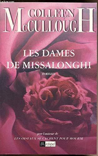 Les dames de Missalonghi (9782841871247) by COLLEEN MCCULLOUGH