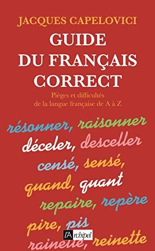 9782841871933: Guidedu français correct