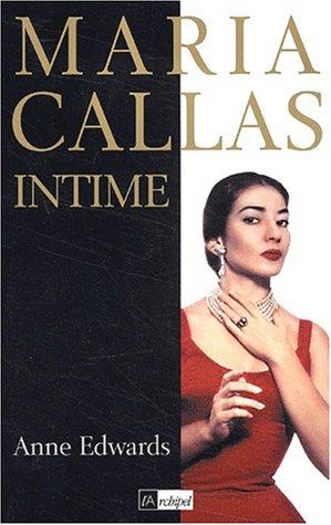 9782841874019: Maria Callas intime
