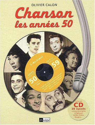 9782841876259: Chanson, les ann�es 50 (1CD audio)