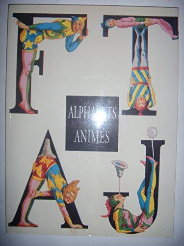 Alphabets animes.: Demeude, Hugues.