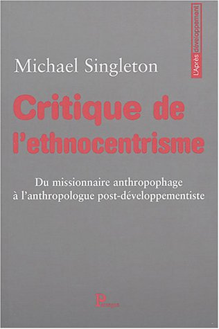 9782841901289: Critique de l'ethnocentrisme