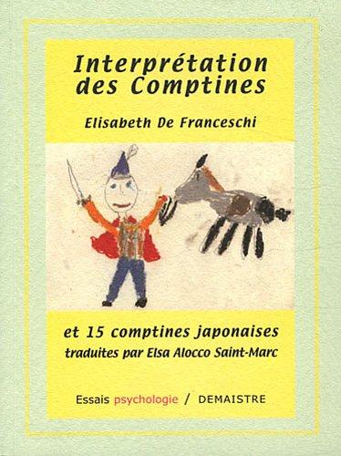 9782841940141: Interprétation des comptines et 15 comptines japonaises