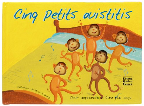 9782841964109: Cinq petits ouistitis