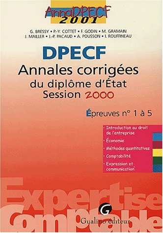 9782842003357: Anna Exp.Compta 2001 Dpecf 1/5
