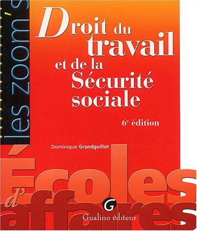 9782842006808: Droit du travail et de la S�curit� sociale